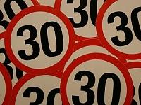 30 km per uur